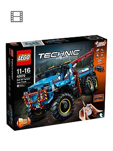 LEGO Technic 42070 6x6 All Terrain Tow Truck