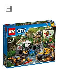 LEGO City 60161 Jungle Explorers Jungle Exploration Site