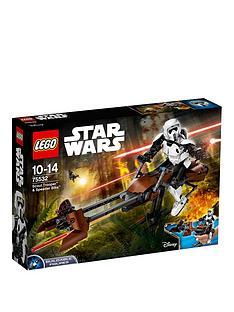 LEGO Star Wars 75532 Scout Trooper& Speeder Bike