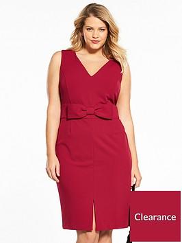 v-by-very-curve-bow-waist-bodycon-dress