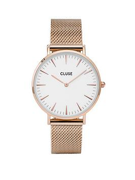 cluse-cluse-la-bohegraveme-rose-gold-mesh-strap-ladies-watch