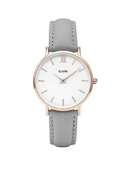 cluse-cluse-minuit-rose-gold-case-grey-leather-strap-ladies-watch