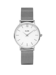 cluse-cluse-minuit-silver-mesh-strap-ladies-watch