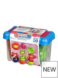 bristle-blocks-58pc-jungle-adventure-bucket