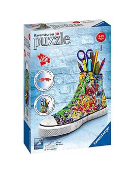 Image of Ravensburger Graffiti Sneakers 108 Pieces 3D Jigsaw Puzzle