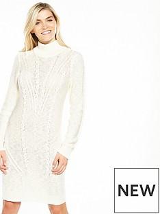 vila-octana-long-sleeve-knit-dress