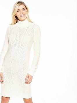 Vila Octana Long Sleeve Knit Dress