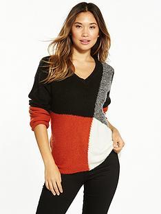 vila-totem-long-sleeve-knit-top