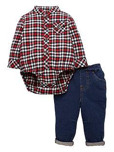mini-v-by-very-baby-boys-plaid-shirt-body-amp-denim-jean-outfit