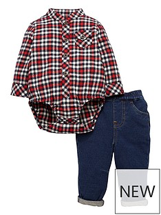mini-v-by-very-baby-boys-plaid-shirt-body-amp-denim-jean-outfit