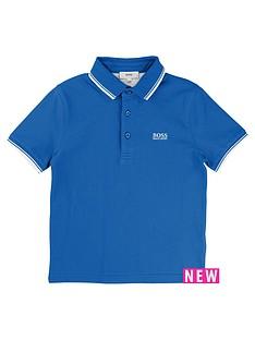 hugo-boss-boys-short-sleeve-blue-polo
