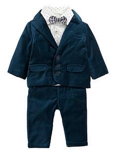 mamas-papas-baby-boys-4-piece-tux-outfit