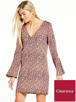 vila-lashanbspthree-quarter-sleeve-dress