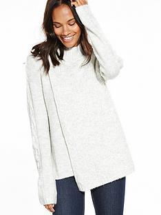 vila-disa-long-sleeve-turtleneck-knit-top-white