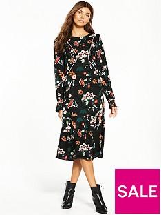 vila-esto-long-sleeve-dress