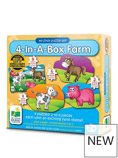 my-first-puzzle-sets-4-in-a-box-farm-animals