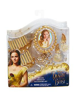 Photo of Disney beauty and the beast belle's dress up accessory set