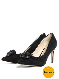 phase-eight-suede-sparkle-rose-court-shoenbsp