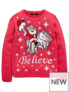 v-by-very-girls-believe-unicorn-christmas-jumper