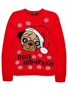 v-by-very-girls-bah-humpug-christmas-jumper