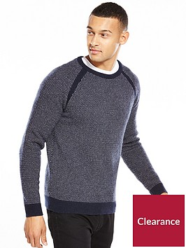 selected-homme-printed-crew-neck-jumper