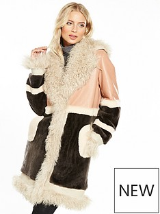 v-by-very-shearling-patchwork-coat