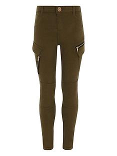 river-island-girls-khaki-skinny-fit-cargo-trousers