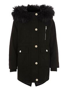 river-island-girls-black-faux-fur-trim-hooded-parka