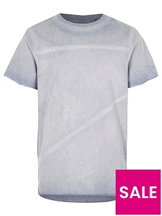 river-island-boys-blue-oil-washed-raw-edge-t-shirt