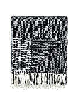 cascade-home-herringbone-throw