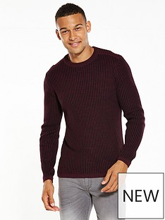 river-island-casual-ribbed-jumper