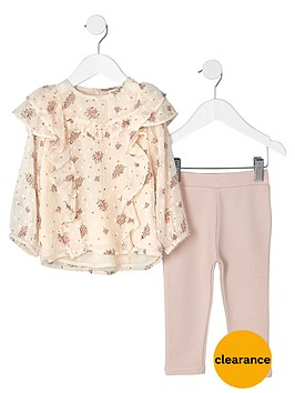 river-island-mini-girls-pink-ditsy-top-and-leggings-oufit