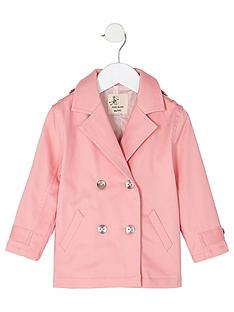 river-island-mini-girls-pink-double-breasted-trench-coat
