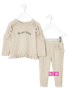 river-island-mini-girls-cream-frill-jumper-outfit