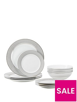 ideal-home-silver-band-12-piece-dinner-set