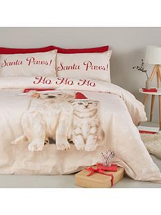 catherine-lansfield-santa-paws-cotton-rich-christmas-duvet-cover-set
