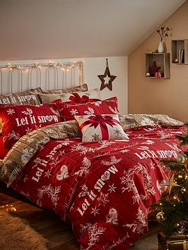 catherine-lansfield-christmas-garland-cotton-rich-duvet-cover-set