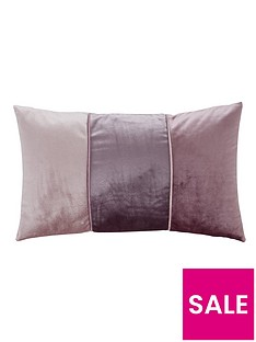 catherine-lansfield-velvet-bands-cushion