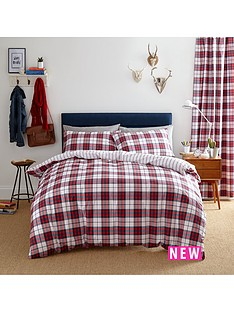 catherine-lansfield-henley-check-duvet-cover-set