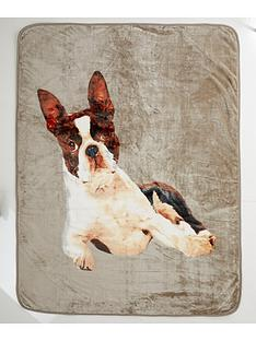 catherine-lansfield-french-bulldog-throw