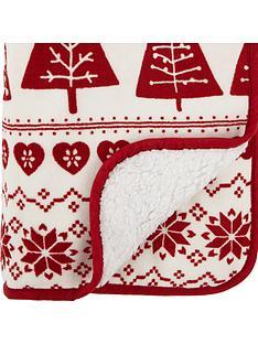 catherine-lansfield-nordic-tree-christmas-throw