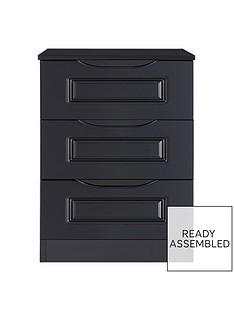 milan-ready-assembled-high-gloss-3-drawer-bedside-chest