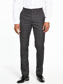 v-by-very-slim-check-suit-trouser