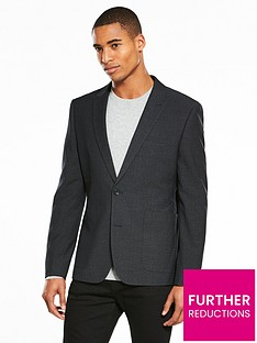 v-by-very-slim-pindot-blazer