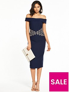 little-mistress-jacquard-sweetheart-bodycon-dress-navy