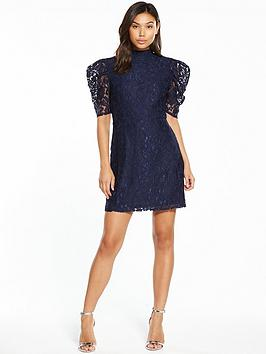 Fashion Union Blin Lace Shift Dress