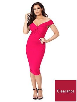 jessica-wright-carolina-bardot-bodycon-dress-hot-pink