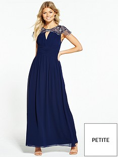 little-mistress-petite-cap-sleeve-embellished-maxi-dress-navy
