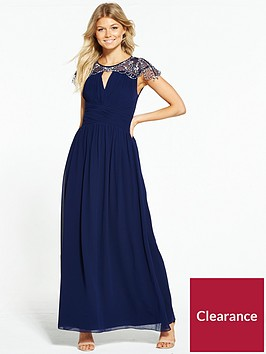 little-mistress-petite-cap-sleeve-embellished-maxi-dress-navy