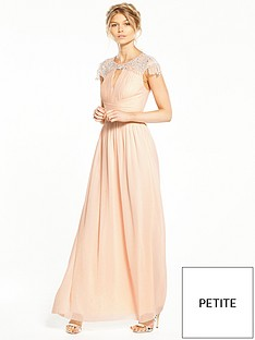 little-mistress-petite-cap-sleeve-embellished-maxi-dress-nude